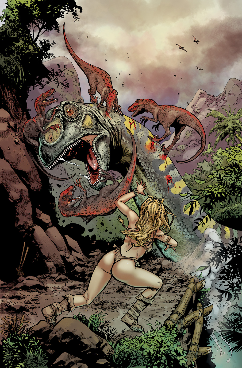 Comic color , client Avatar Press (click on the link icon for more)