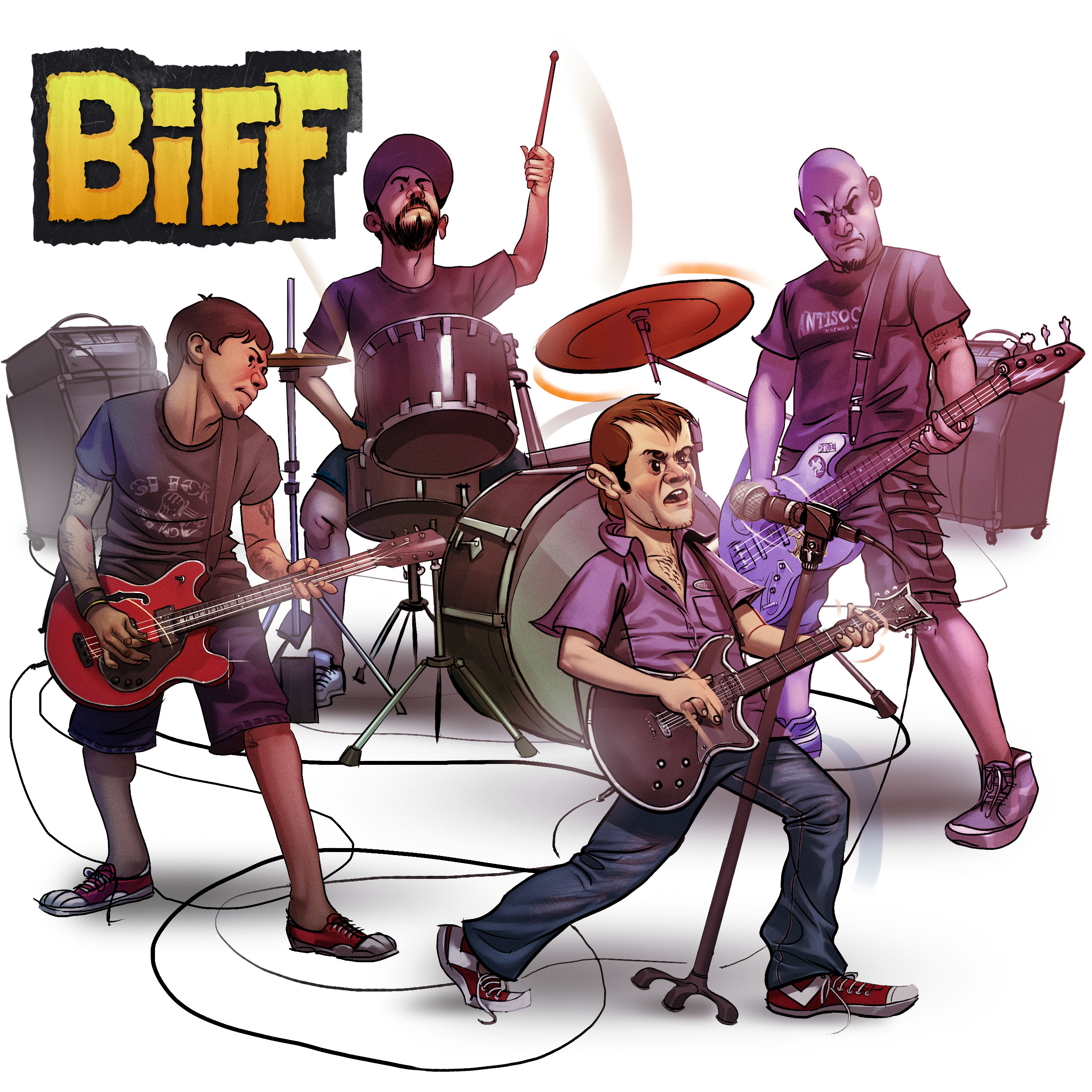 «BIFF» Cover for Band´s Album