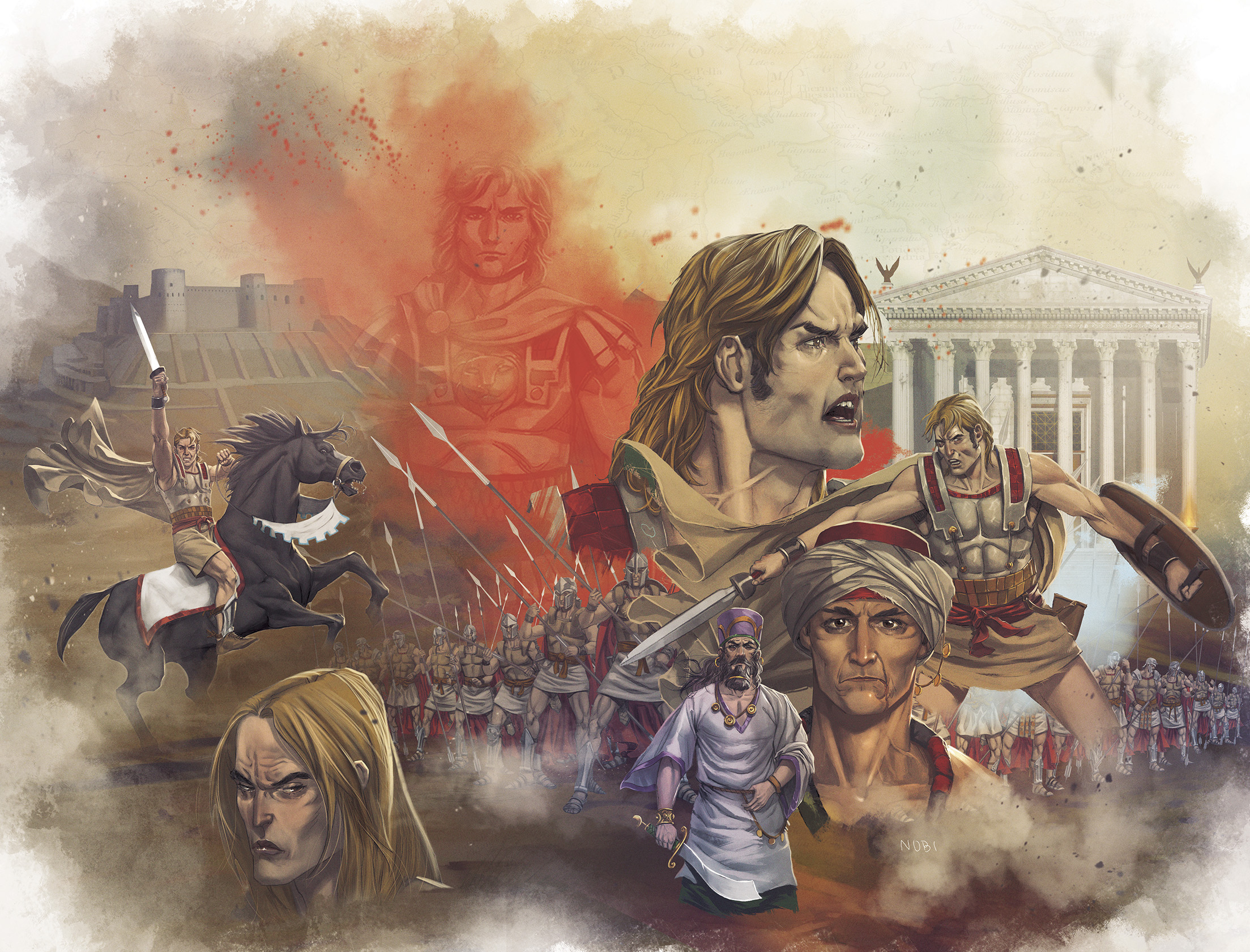 Alexander The Great, Graphic novel (click on the link icon for more)